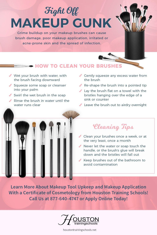Tips On How To Wash Makeup Brushes  Saubhaya Makeup